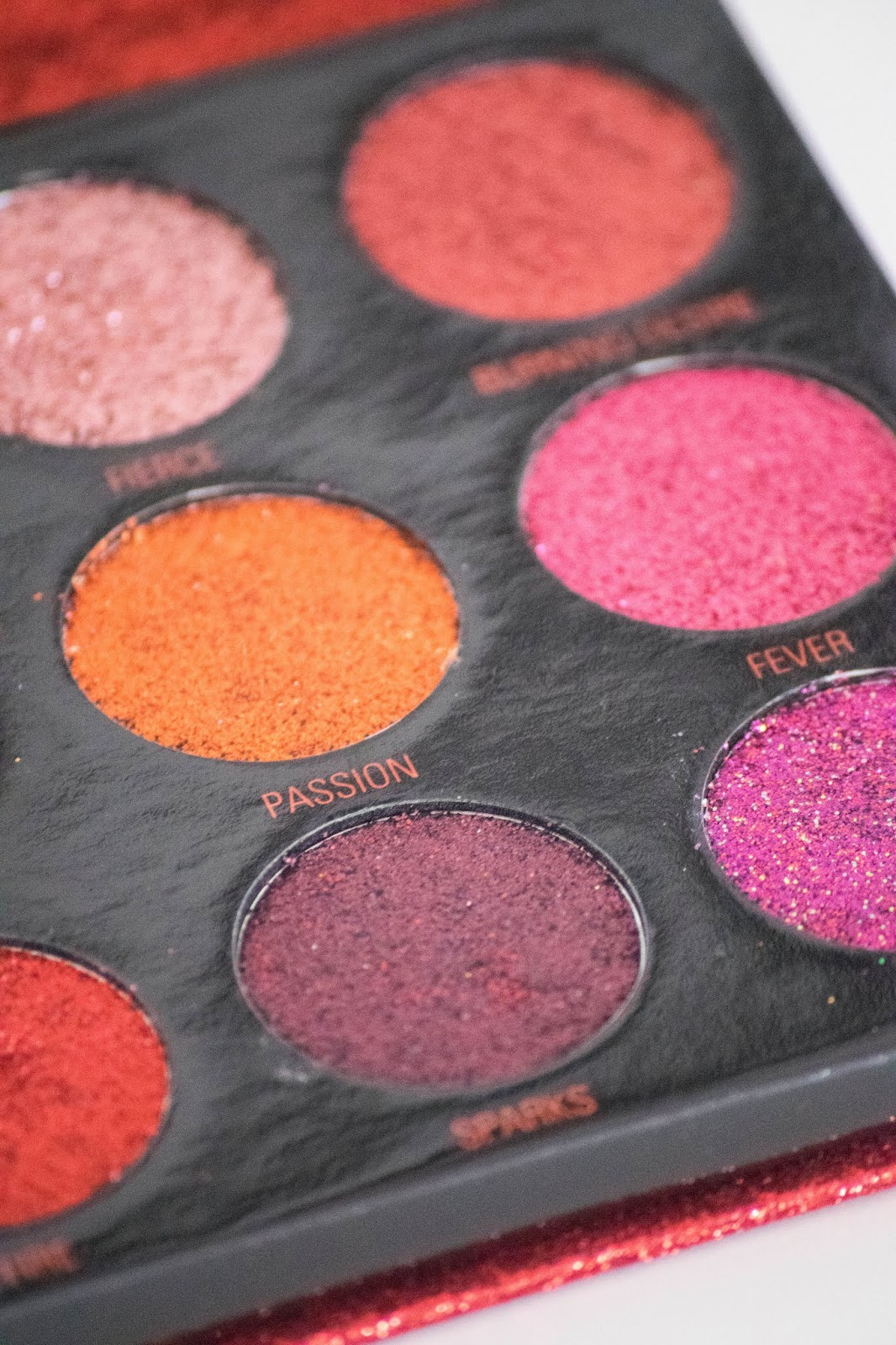 paleta de glitter makeup revolution