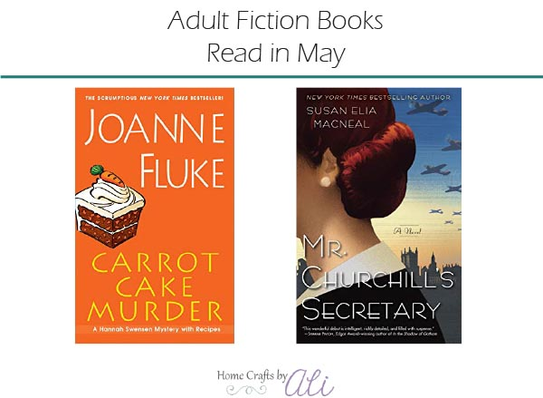 Adult Fiction Books Read in May