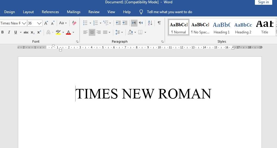 Cara Memilih Jenis Font Dan Ukurannya Di Microsoft Office Word Lengkap