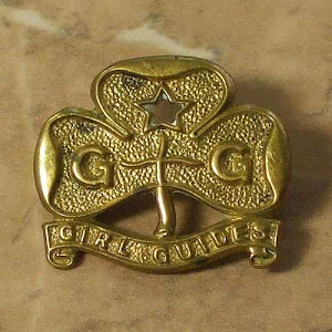 Vintage Girl Guide badge Birmingham