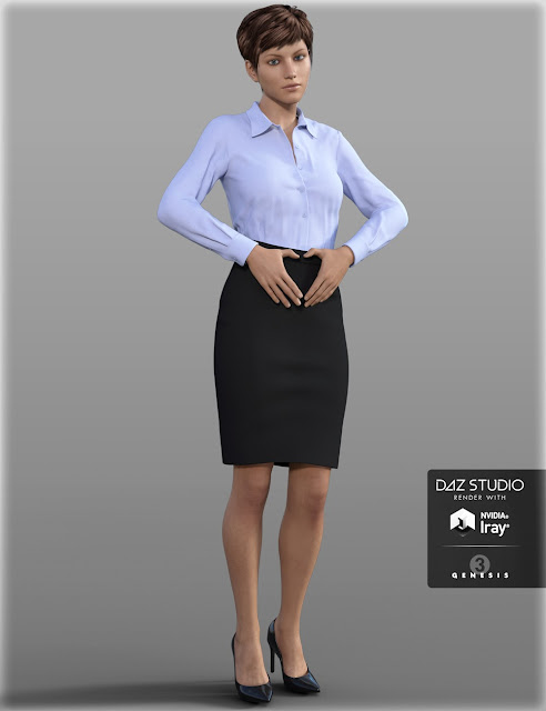 Doctor Coat Outfit for Genesis 3 Female