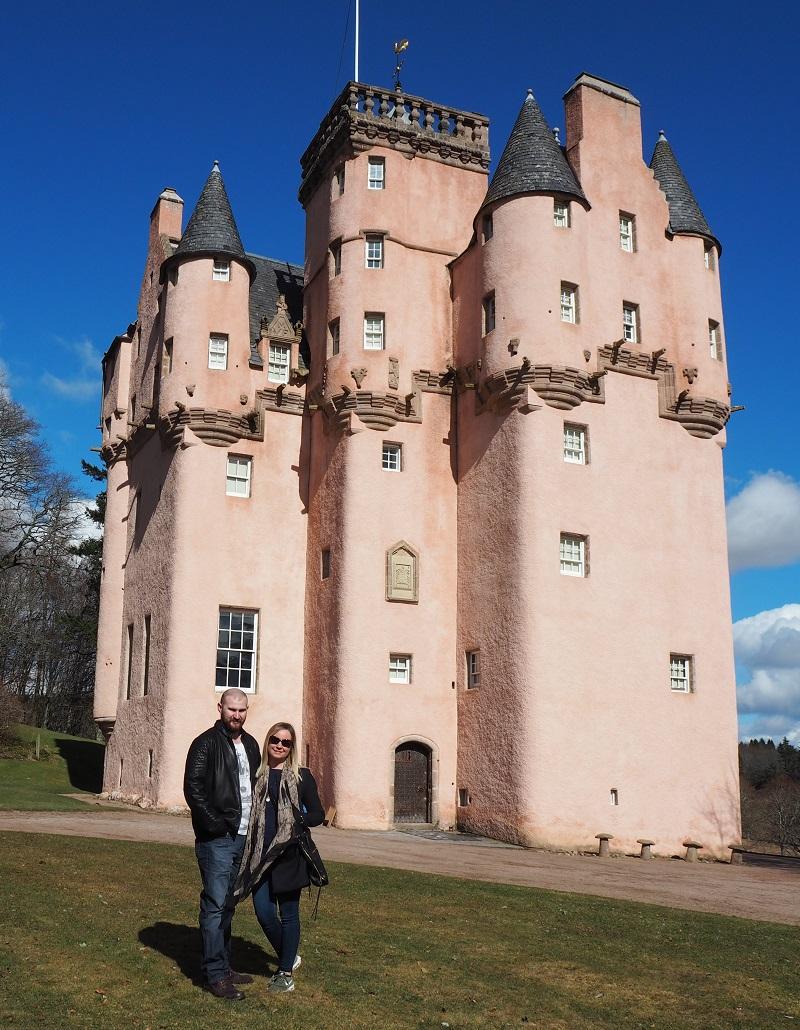 Craigievar pink castle