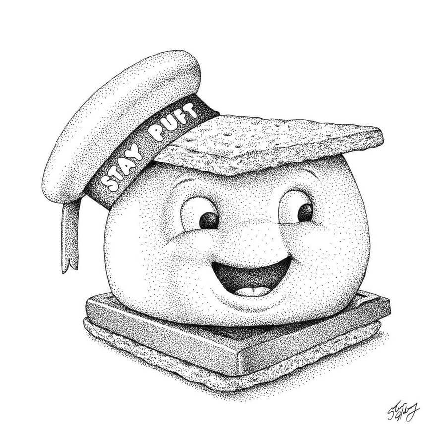 08-Stay-Puff-Marshmallow-Man-Steve-Habersang-www-designstack-co
