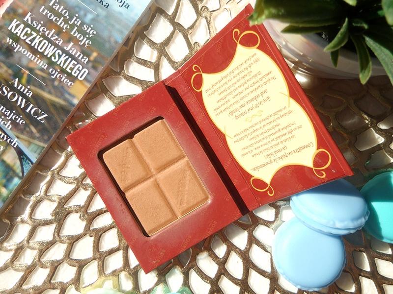 Bourjois bronzing powder, czekoladka Bourjois, bronzer Bourjois