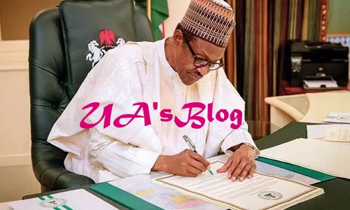 JUST IN: Buhari Approves Bills, Changes Nigerian Prison Service To Correctional Service And Federal University Of Agriculture Makurdi To Joseph Sarwuan Tarka University
