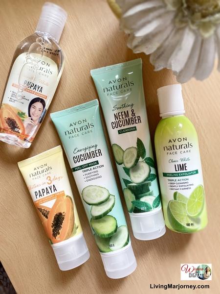 Avon Naturals Face Care