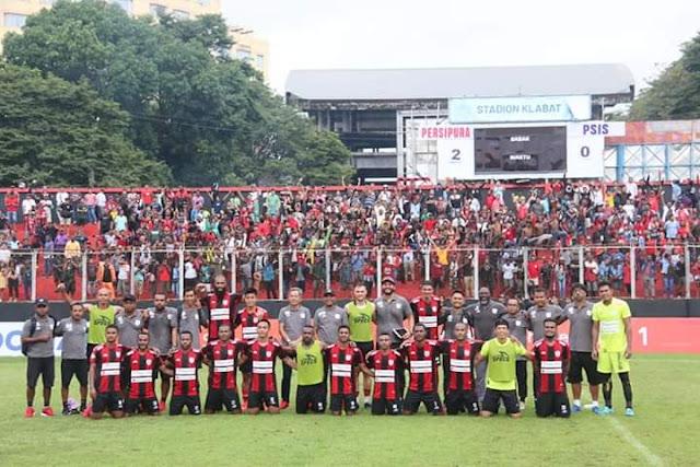 2 Gol Untuk Persipura, Coach PSIS Sayangkan Tindakan Wasit