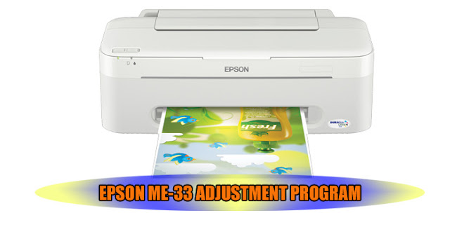 EPSON ME-33 PRINTER ADJUSTMENT PROGRAM