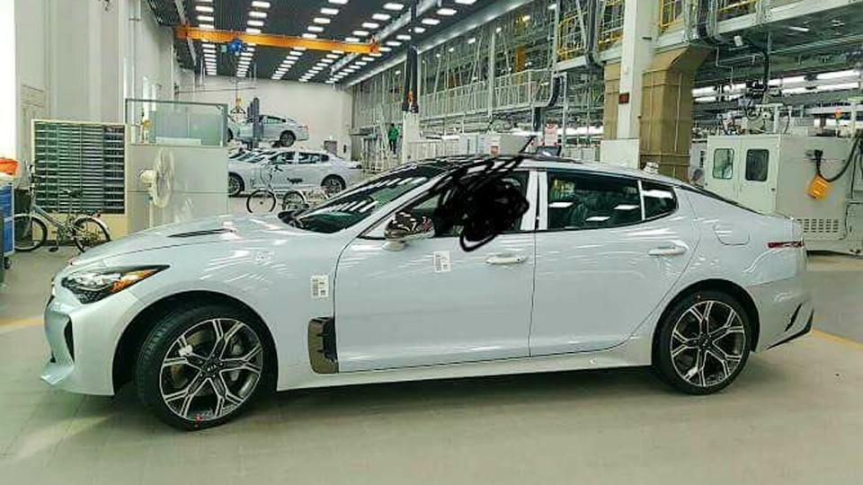 Новая модель Kia