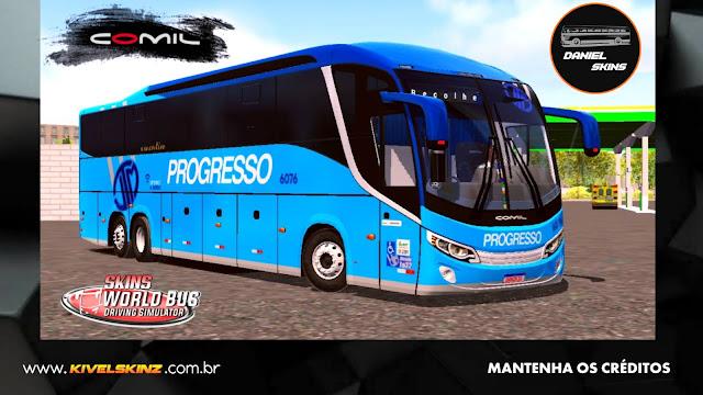 COMIL 1200 6X2 - VIAÇÃO PROGRESSO