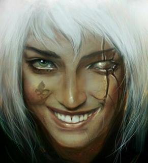 Hermana de Batalla sonriendo