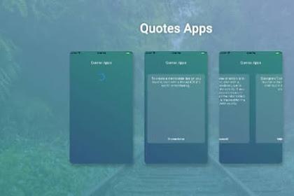 Tutorial Flutter Cara Membuat Aplikasi Quotes dengan API