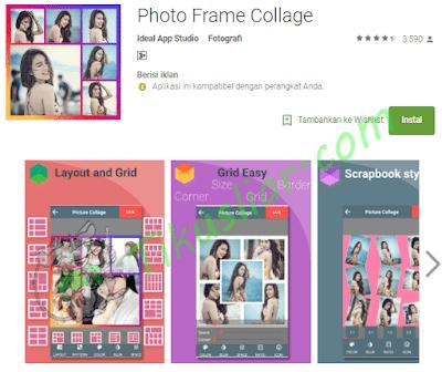 Cara menggabungkan beberapa foto menjadi satu di android