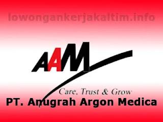 Lowongan Kerja PT Anugrah Argon Medica, lowongan kerja Kaltim 2021 untuk lulusan SMA SMK D1 D3 d4 dan S1 Sales Marketing Driver Admin Accounting HR dl
