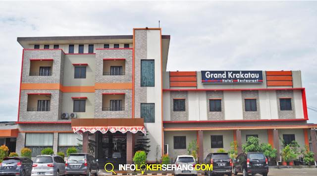 Lowongan Kerja Receptionist dan Chasier Grand Krakatau Hotel Serang