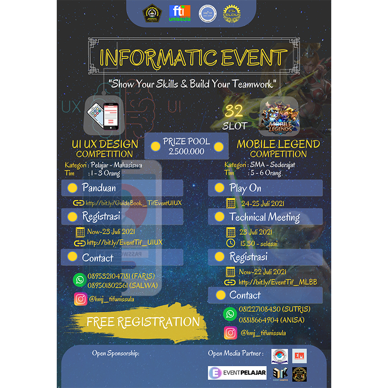 INFORMATICS EVENT 2021
