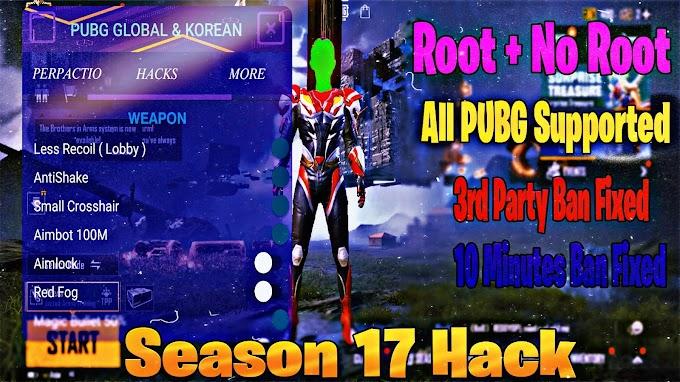 PUBG AntiBan Cheat, Wallview, AimBot, LessRecoil, MagicBullet, Esp, And More ( 1.2.0 ) Season 17