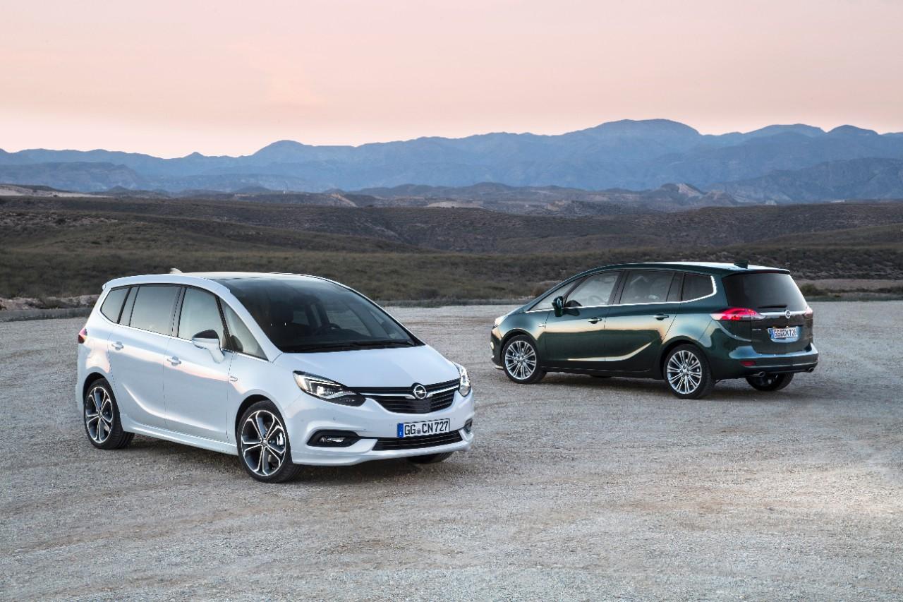 Το νέο Opel Zafira