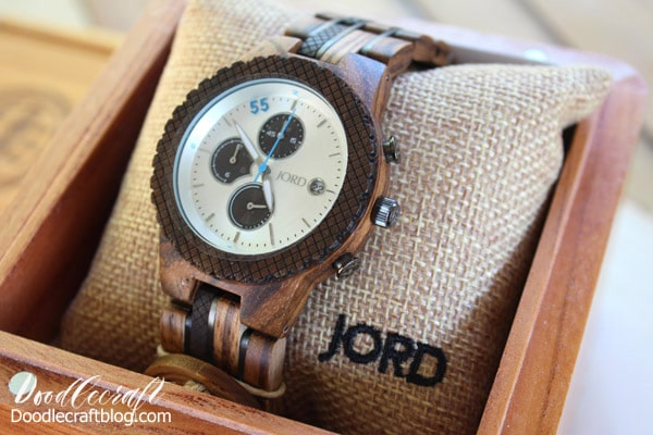 How to Adjust or resize Wooden Watch Band Jord Conway mens automatic winding wood watch