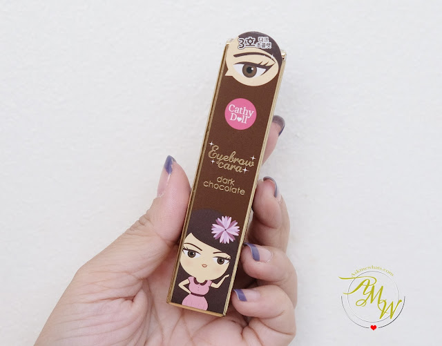 a photo of Cathy Doll Brow Mascara Review