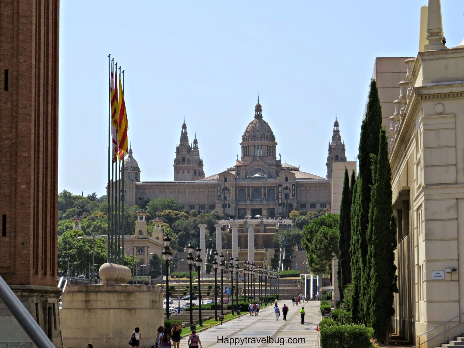 The National Museum of Art in Barcelona, Spain
