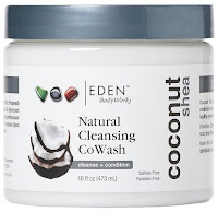 Click here to buy an up and coming favorite cowash, Eden Body Works All Natural Cleansing CoWash