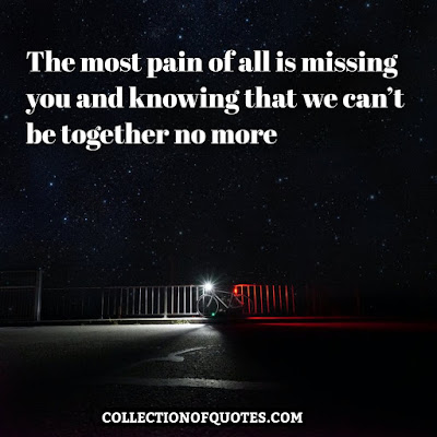 painful love memories quotes