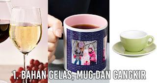 Apa sih Perbedaan Gelas, Mug dan Cangkir?