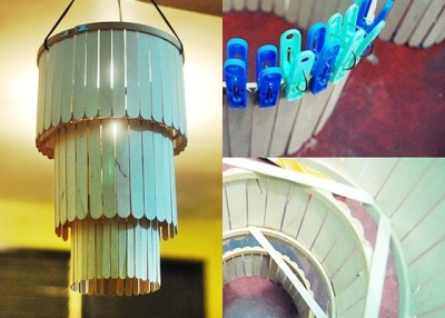 10 Ide Kreatif Cara Membuat Lampu Hias Dari Barang Bekas