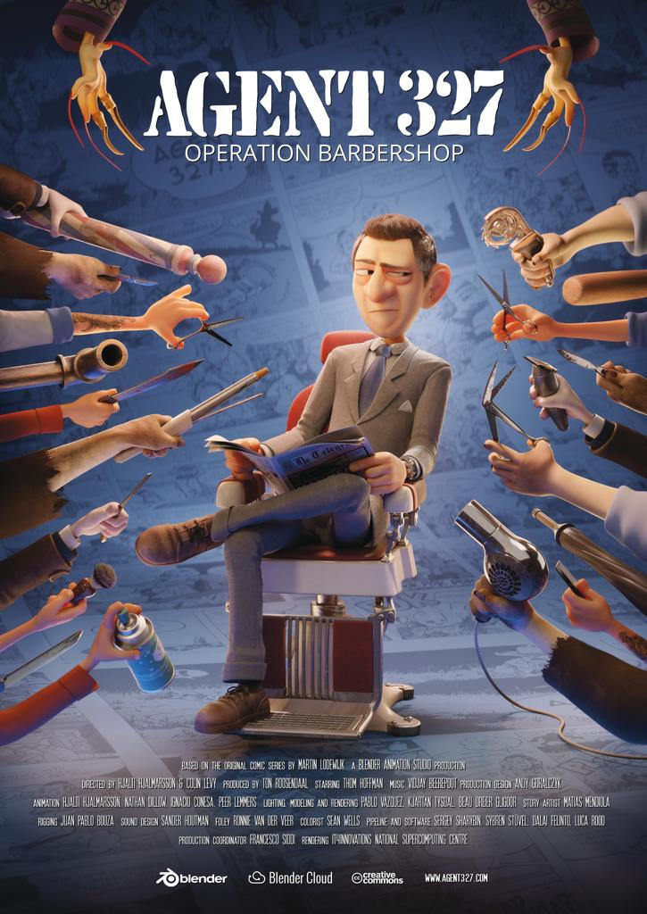 ver Agent 327: Operation Barbershop [Cortometraje][2017]