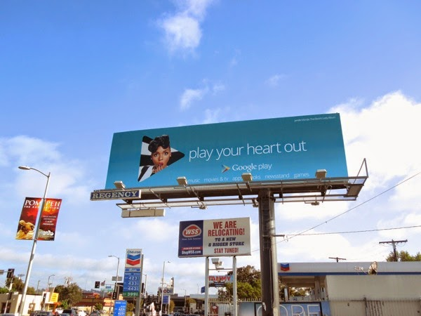 Janelle Monae Google Play your heart out billboard