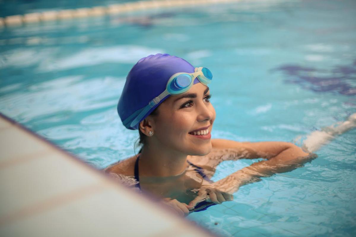 Berenang efektif hilangkan stres