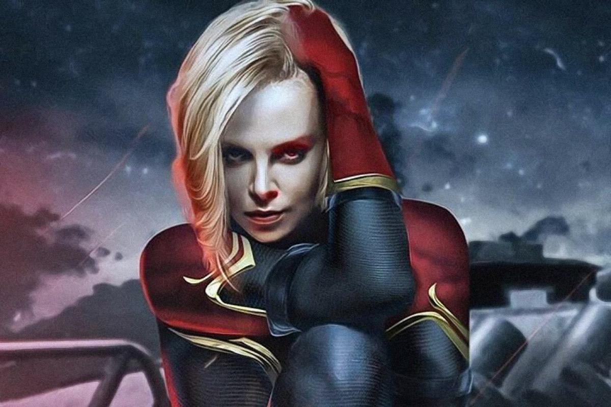 Charlize Theron substitui Brie Larson como a Capitã Marvel em vídeo deepfake