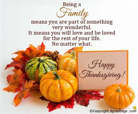 Happy Thanksgiving Day Wishes