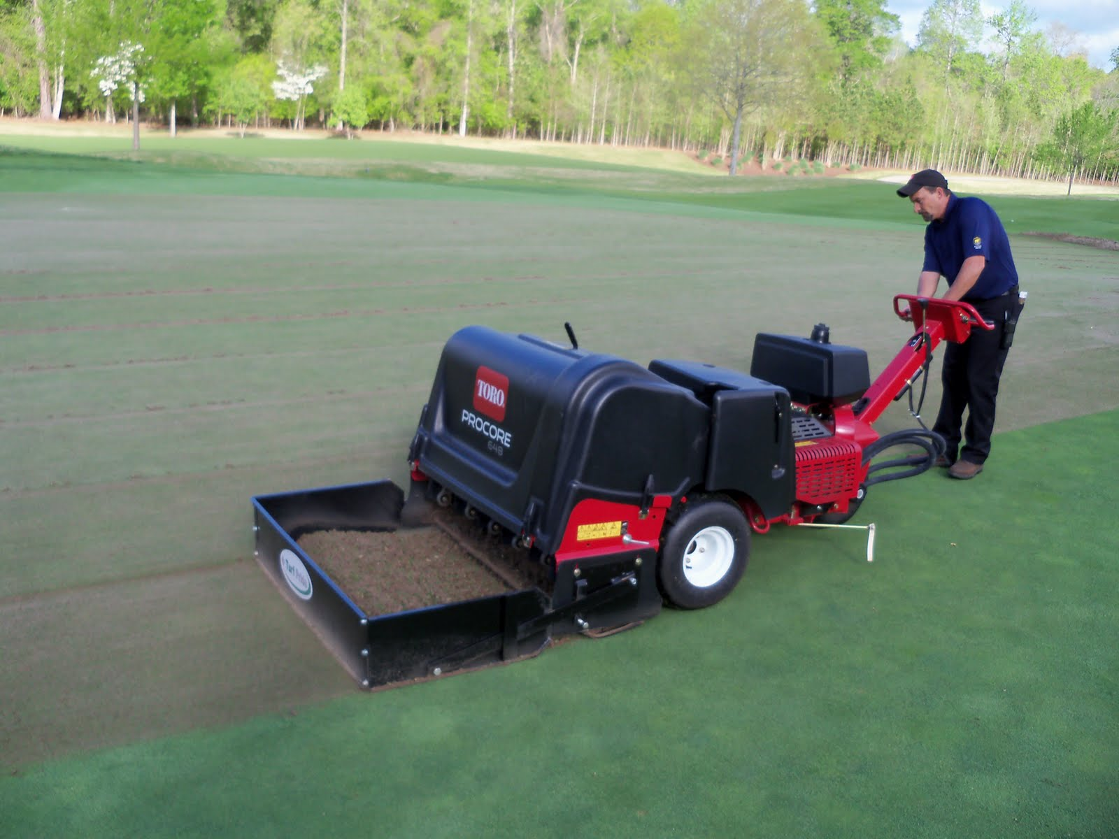 Bear S Best Atlanta Golf Course Maintenance A Day Of Aeration