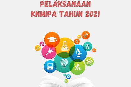PENGUMUMAN PELAKSANAAN KNMIPA TAHUN 2021