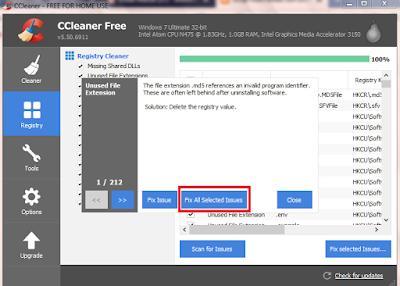 Cara Membersihkan Hardisk dan Registry di PC Windows