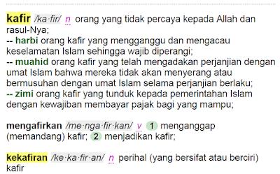 Makna Kata Kafir