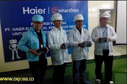 Lowongan Kerja SMA/SMK Sederajat PT Haier Electrical Appliances Indonesia (HEI) Cikarang