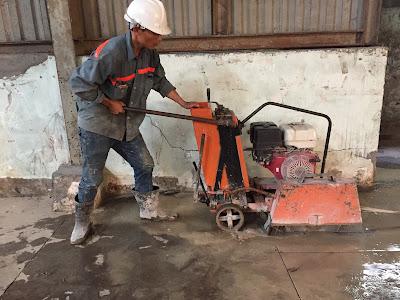 Khoan cắt bê tông tại huyện Trà Cú