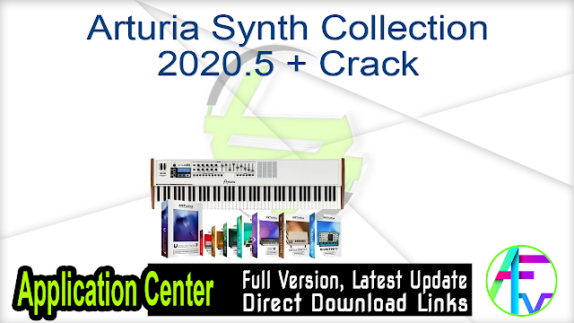 Arturia Synth Collection 2020.5 + Crack