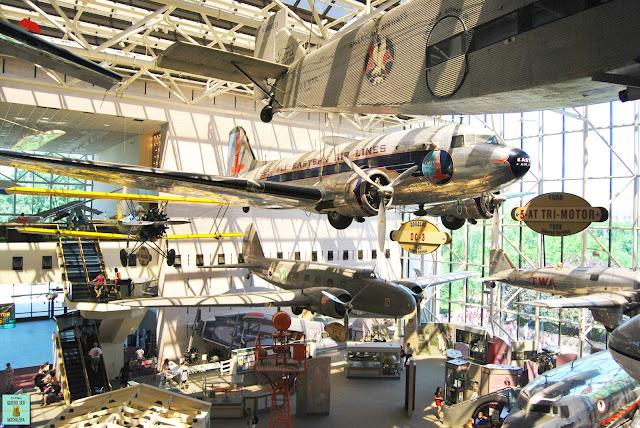Museo Nacional del Aire y del Espacio en Washington
