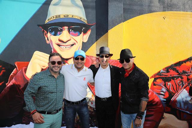 Jossie Esteban, Elvis Crespo y Joseph Fonseca ya forman parte de Galería de Arte urbano de Santiago