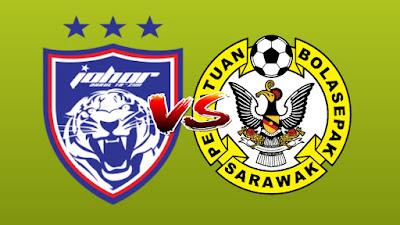 Live Streaming JDT II vs Sarawak Challenge Cup 5.8.2019