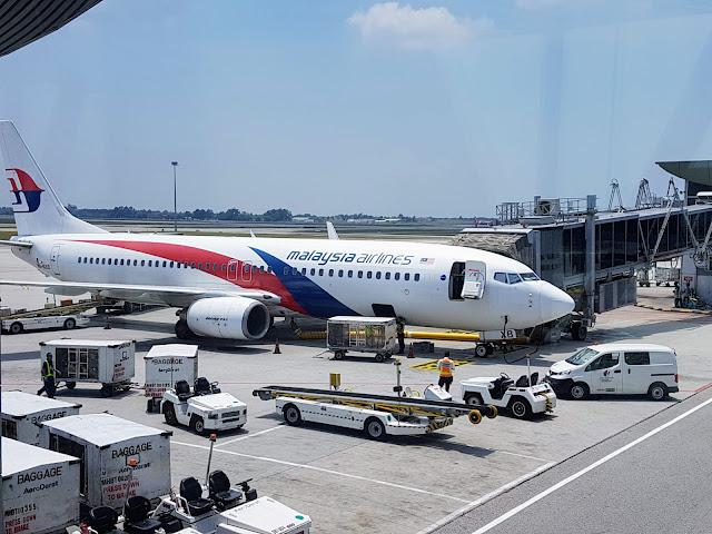 【航空体验】马来西亚航空 Malaysia Airlines B737-800 吉隆坡往返普吉岛KUL-HKT