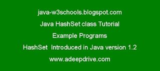 Java-Hashset