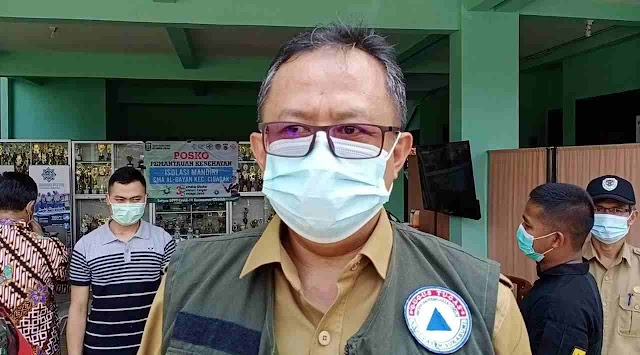 Pjs Bupati Sukabumi Tinjau Perkembangan Penanganan Covid 19 Di Pondok Pesantren Al Bayan