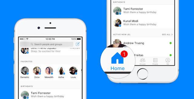 فيسبوك ماسنجر يغير واجهته ليصبح أسهل في الاستخدام