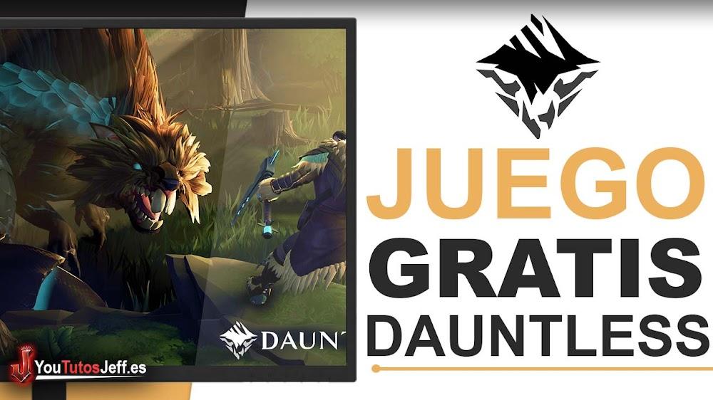 Descargar Dauntless Gratis Español - Juego Gratis RPG Cooperativo
