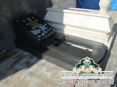 Model Pusara Kristen Granit, Model Kuburan Kristen Sederhana